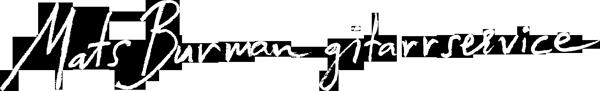 Mats Burman gitarrservice